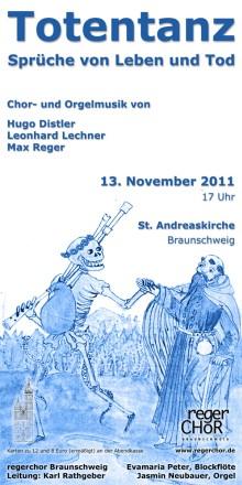Plakat Totentanz