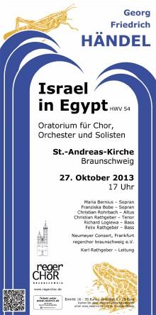 Plakat Israel In Egypt