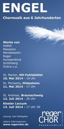 Plakat für Engelkonzert