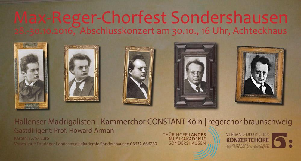Konzertplakat Sondershausen